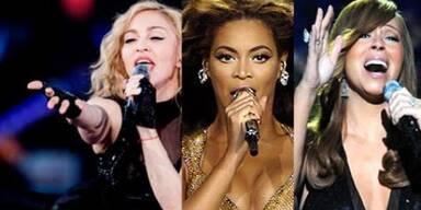 Drei Diven singen für Michael Jackson