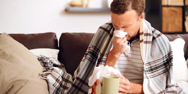 So überstehen Sie die Grippewelle
