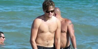 Leo DiCaprio badet auf Ibiza