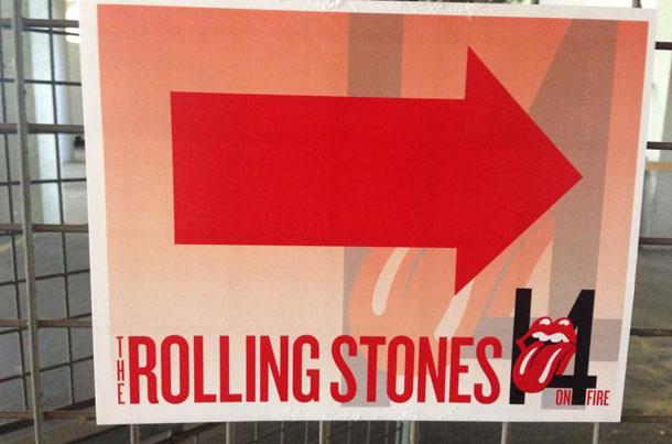 Rolling Stones im Happel-Stadion