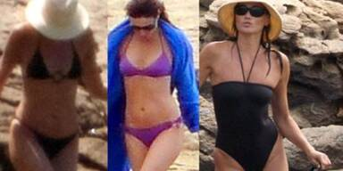 Carla Bruni: Bikini-Catwalk