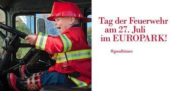 Freitag, 27.07.2018: Tag der Feuerwehr im Europark