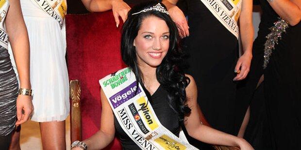 Jenny Besenyei ist die neue Miss Vienna