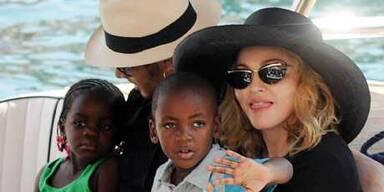 Madonna mit Familie in Italien