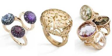 Pomellato-Ringe: Chic und elegant