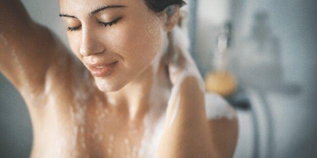 Diese Körperstelle sollten Sie beim Duschen nie aussparen