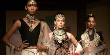 Indische Brautmode
