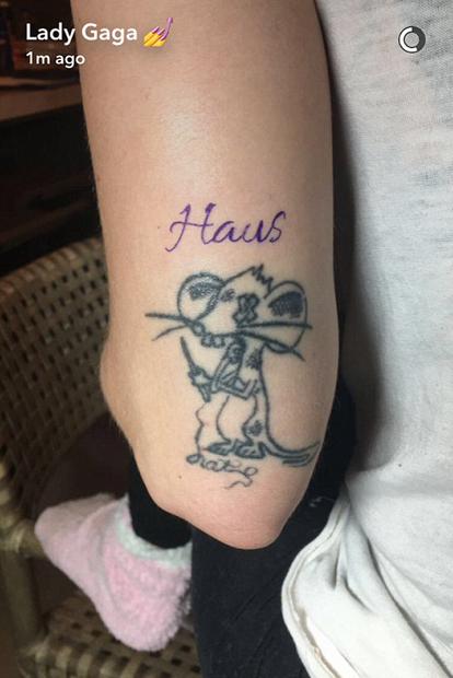 Lady Gaga: 20. Tattoo
