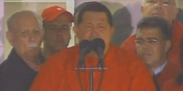 Hugo Chavez sichert Assad Unterstützung zu