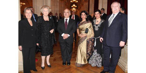 Königlicher Festakt in Wien