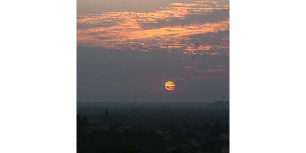 Jahrtausend-Sonnenfinsternis in Asien