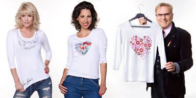 MADONNA verlost herzige Shirts, die Kindern helfen