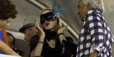 So feiert Madonna in Rio