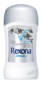 3 Rexona Women Crystal Clear Stick
