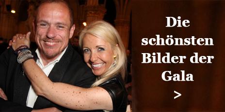 3 Uschi Fellner Gery Keszler Nacht gegen Armut Volkshilfe