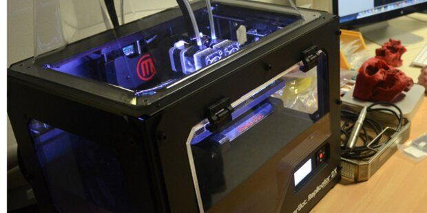 Steyrer geben bei 3D-Druckern Gas