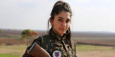 Christliche Frauen im Kampf gegen IS-Jihadisten