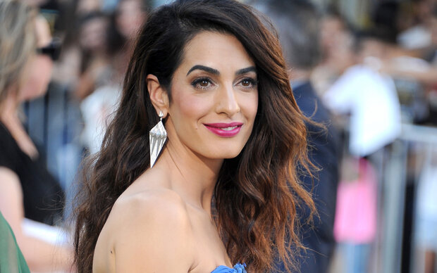 Amal Clooney ist zurück am roten Teppich