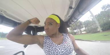Serena Williams tanzt zu Beyonce Hit!