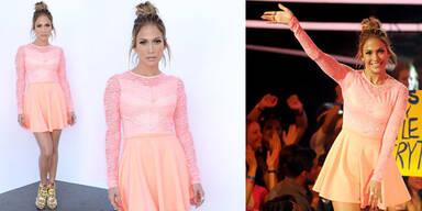 "Jennifer Lopez: gestylt in ""Billig-Kleid"""