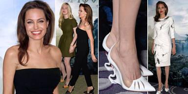 Angelina Jolie liebt ihre extravaganten Heels