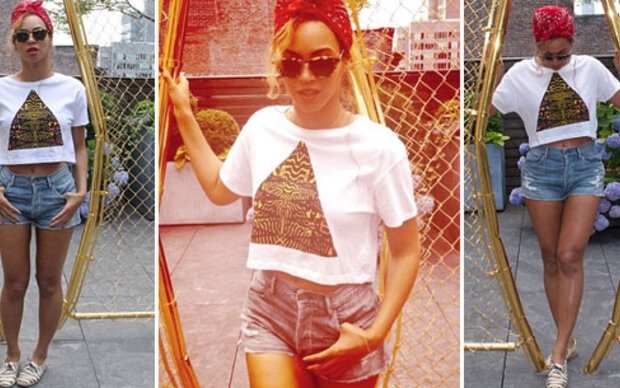 Beyoncé: flacher Bauch & sexy Hotpants