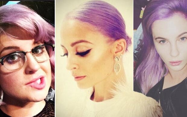 Lila-Laune: Neuer Trend-Hairstyle der Stars?
