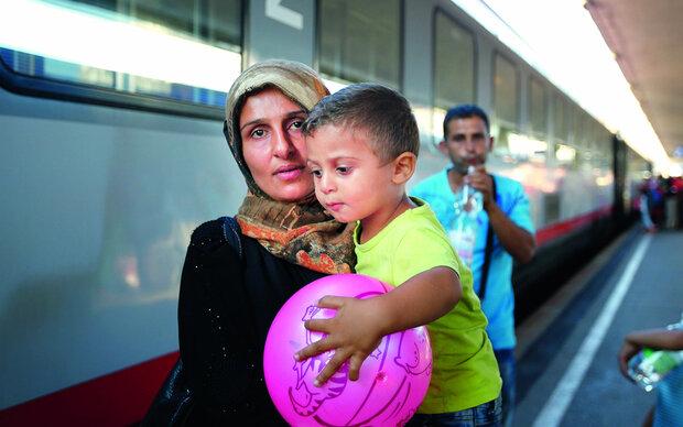Hilfe für die Flüchtlinge