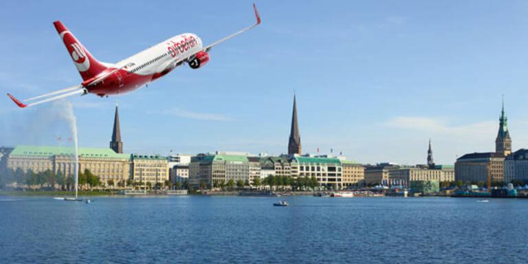 Mit airberlin & MADONNA nach Hamburg