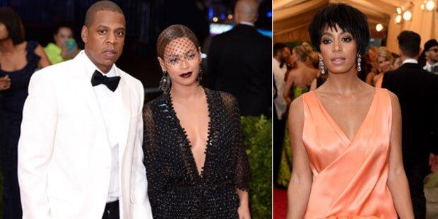 Beyoncés Schwester schlägt auf  Jay-Z ein