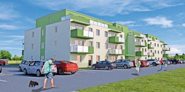 36 flexible Wohnungen in Sommerrein