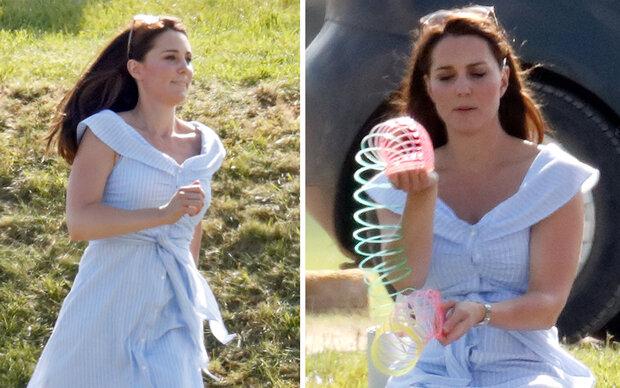 Kate trägt 49-Euro-Kleid von Zara