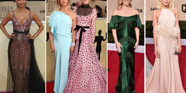SAG Awards: Die Red Carpet Looks