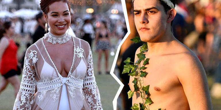 Die Looks des Coachella-Festivals