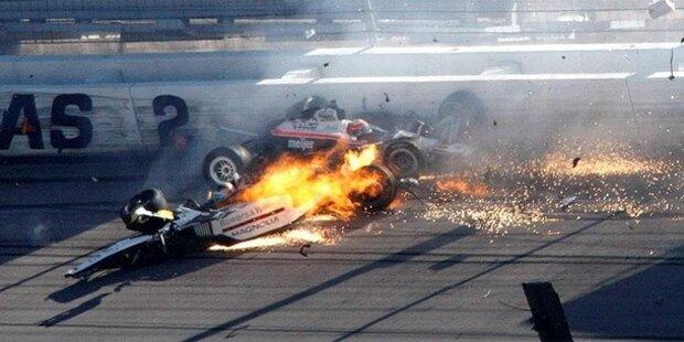 Indy-Legende Dan Wheldon verunglückt