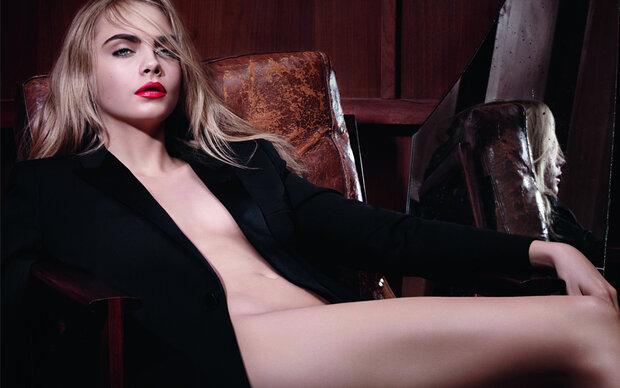 Sexy YSL-Kampagne mit Cara Delevingne