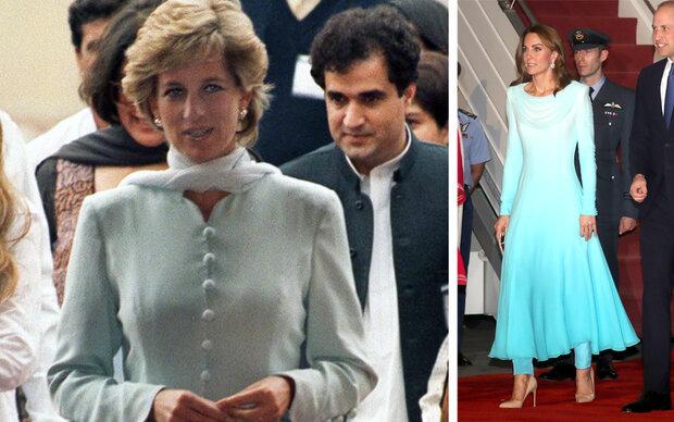 Kate auf Dianas Spuren