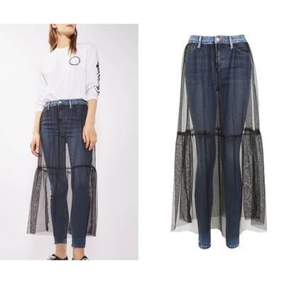 Die verrücktesten Jeans der Saison