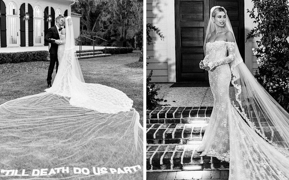 Hailey Baldwin Bieber, la robe de mariée glamour
