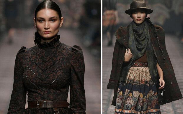 Mild Mild West: Lena Hoschek zeigt Mode für die Großstadt-Prärie