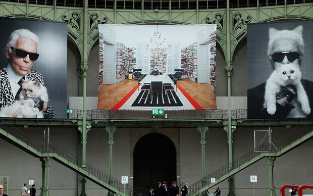 Karl Lagerfeld mit Gala in Paris geehrt