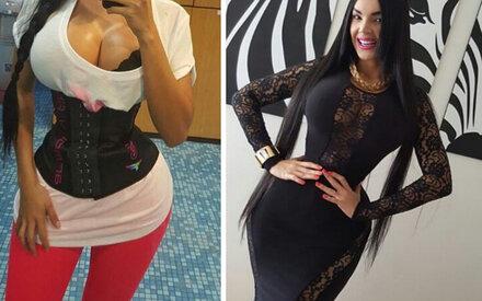 Podtjaschka und die Erhöhung der Brust rund implantami