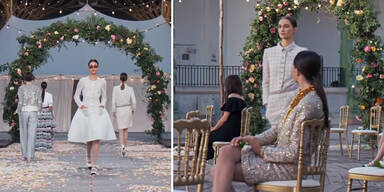 Chanel: Couture-Show in Light-Variante