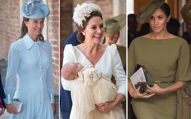 Drei royale Fashionistas für Louis