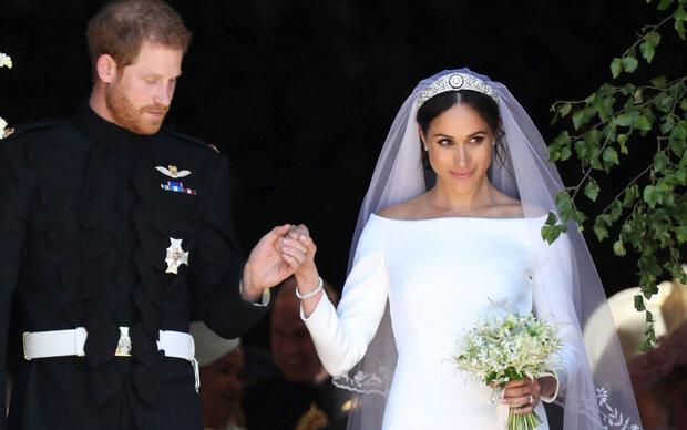 Meghans Hochzeitskleid wird ausgestellt