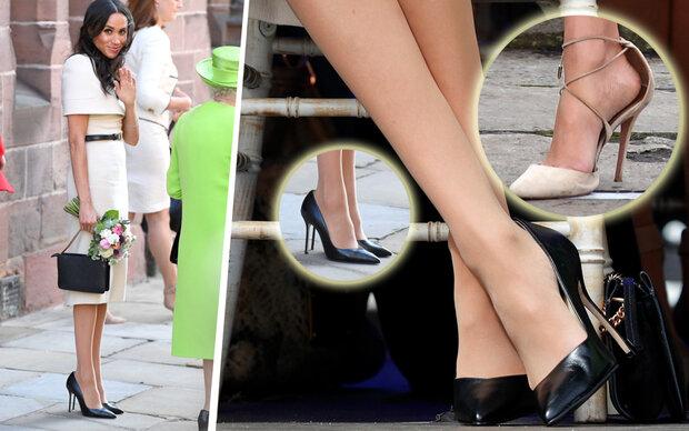 Darum trägt sie immer zu große Schuhe