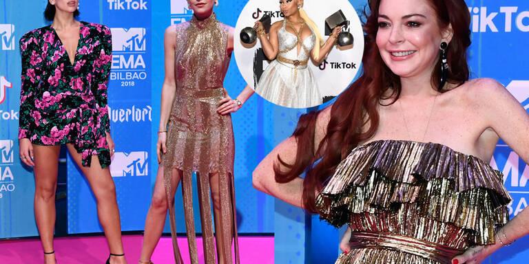 Schrille Star-Parade bei den MTV-Awards