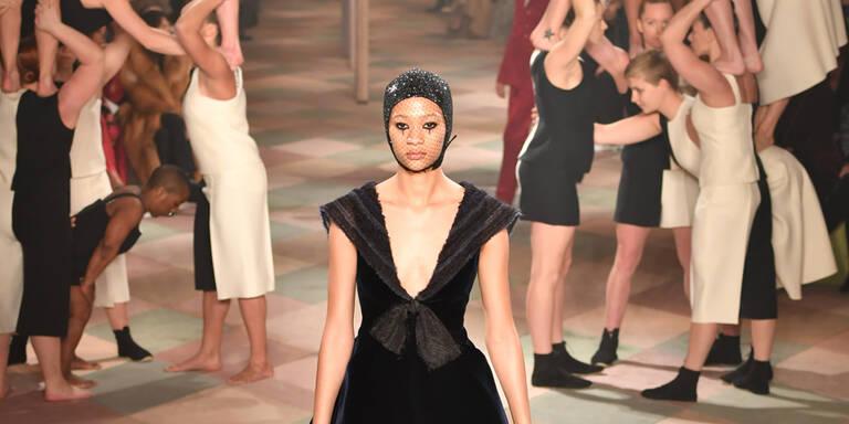Der Modezirkus von Dior bei den Pariser Schauen