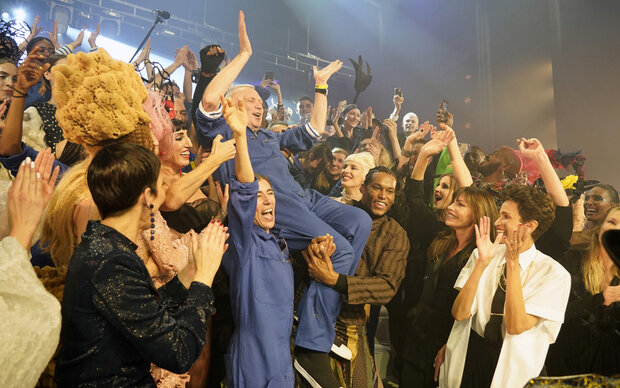 Gaultiers Mega-Show zum Abschied