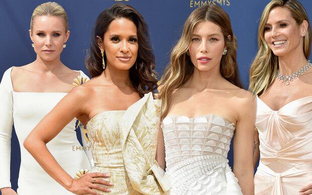 Emmys 2018: Lauter Looks in Weiß
